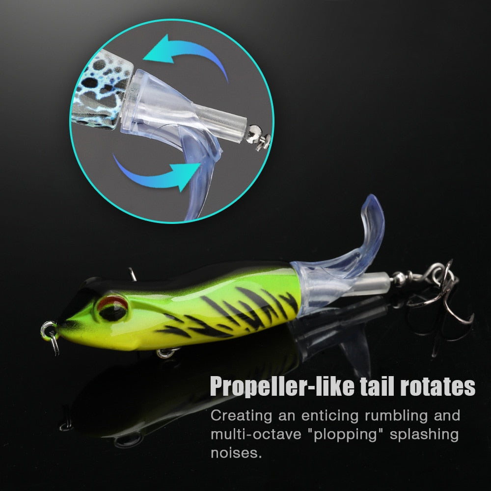 Topwater Whopper Plopper Frog Fishing Lures