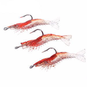 Lifelike Luminous Shrimp Bait - 3PCS SET
