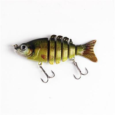 4-6-8 PCS Bundle SET of Colorful Swimbait Bait