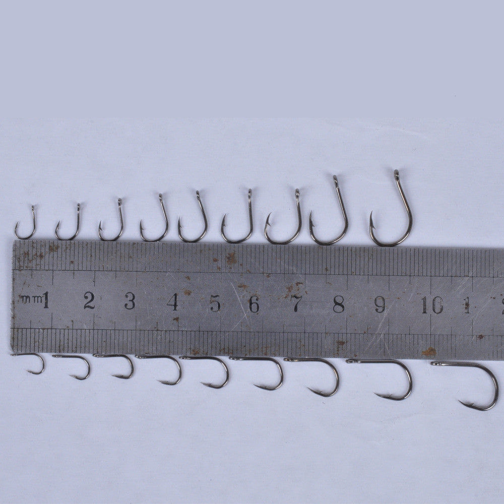 600 Pcs Carbon Steel Fishing Hook