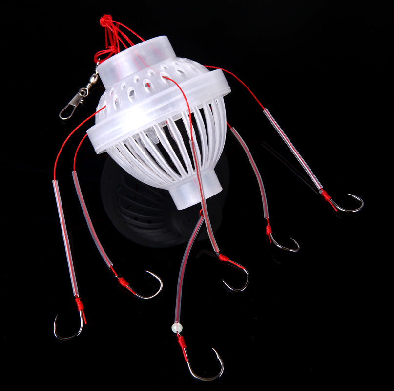 Monster Bait Cage With Multiple Hook