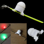 2 in 1 LED Night Fishing Rod Tip Clip - 5PCS / Set