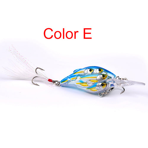 1PC Ball Crankbait Bass Bait