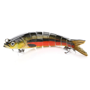 8 sections Fishing Swimbait