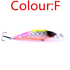 1PC Laser Sinking Minnow Fishing Lure