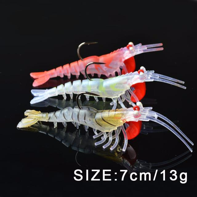Eye Catching Shrimp Lure 3PCS SET