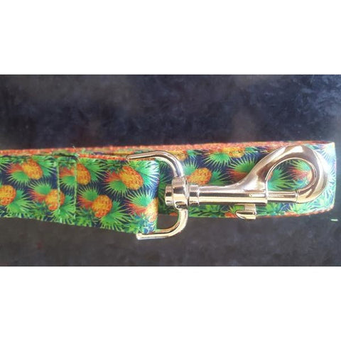 Orange tropicana dog lead - J'dore