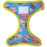 Reversible dog harness: Sweet like sugar bae - J'dore