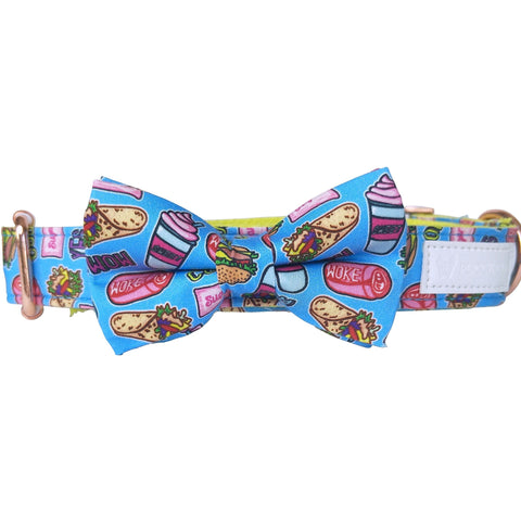 Dog collar & bow-tie: Sweet like sugar - J'dore