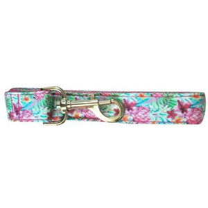 Dog leash: Pink tropicana - J'dore