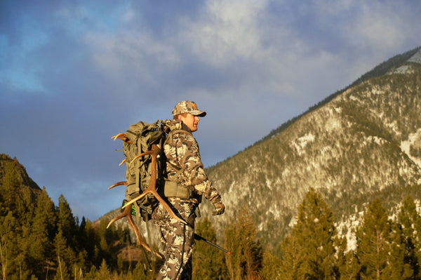 Kyle hunting in BC Canada