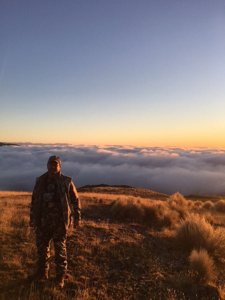 New Zeland Sunrise in the Clouds