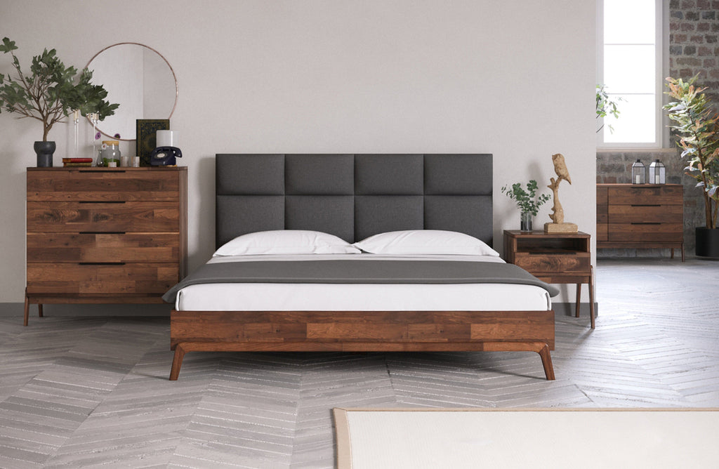 Remix Bed - Grey - 2003-2018 Homestead Furniture All Rights Reserved
