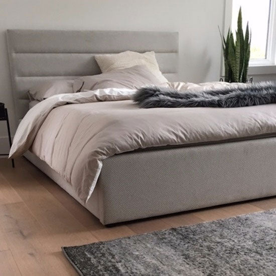 Dustin Upholstered Bed - with or without Storage