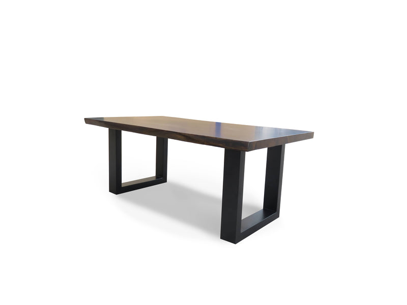 Calcutta2 Live Edge Coffee Table - Dark Walnut