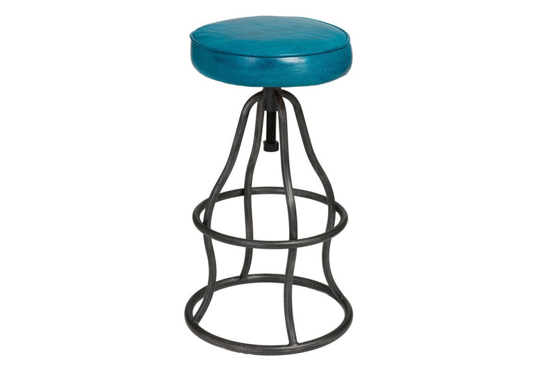 Bowie Bar Stool - Peacock Blue - 2003-2018 Homestead Furniture All Rights Reserved