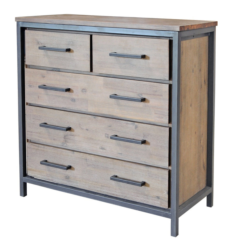 Irondale 5 Drawer Chest - 2003-2018 Homestead Furniture All Rights Reserved