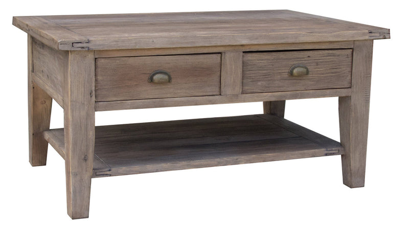 Irish Coast Medium Coffee Table - Driftwood - 2003-2018 Homestead Furniture All Rights Reserved
