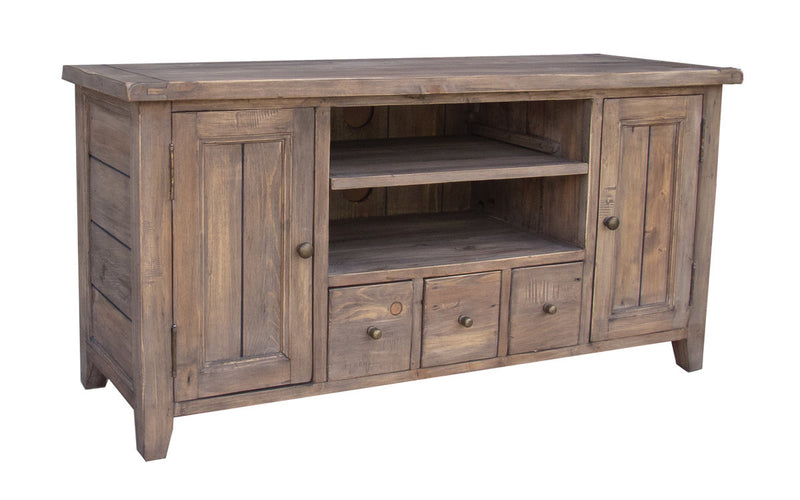 Irish Coast Small TV Console - Driftwood - 2003-2018 Homestead Furniture All Rights Reserved