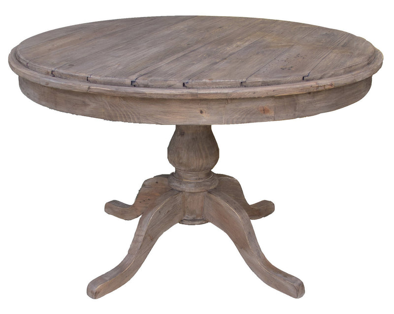 Round Dining Table - Sundried or African Dusk - 2003-2018 Homestead Furniture All Rights Reserved