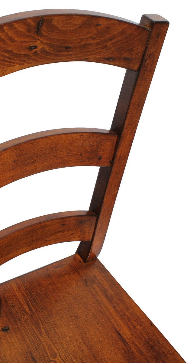 Irish Coast Ladder Back Chair - African Dusk - 2003-2018 Homestead Furniture All Rights Reserved