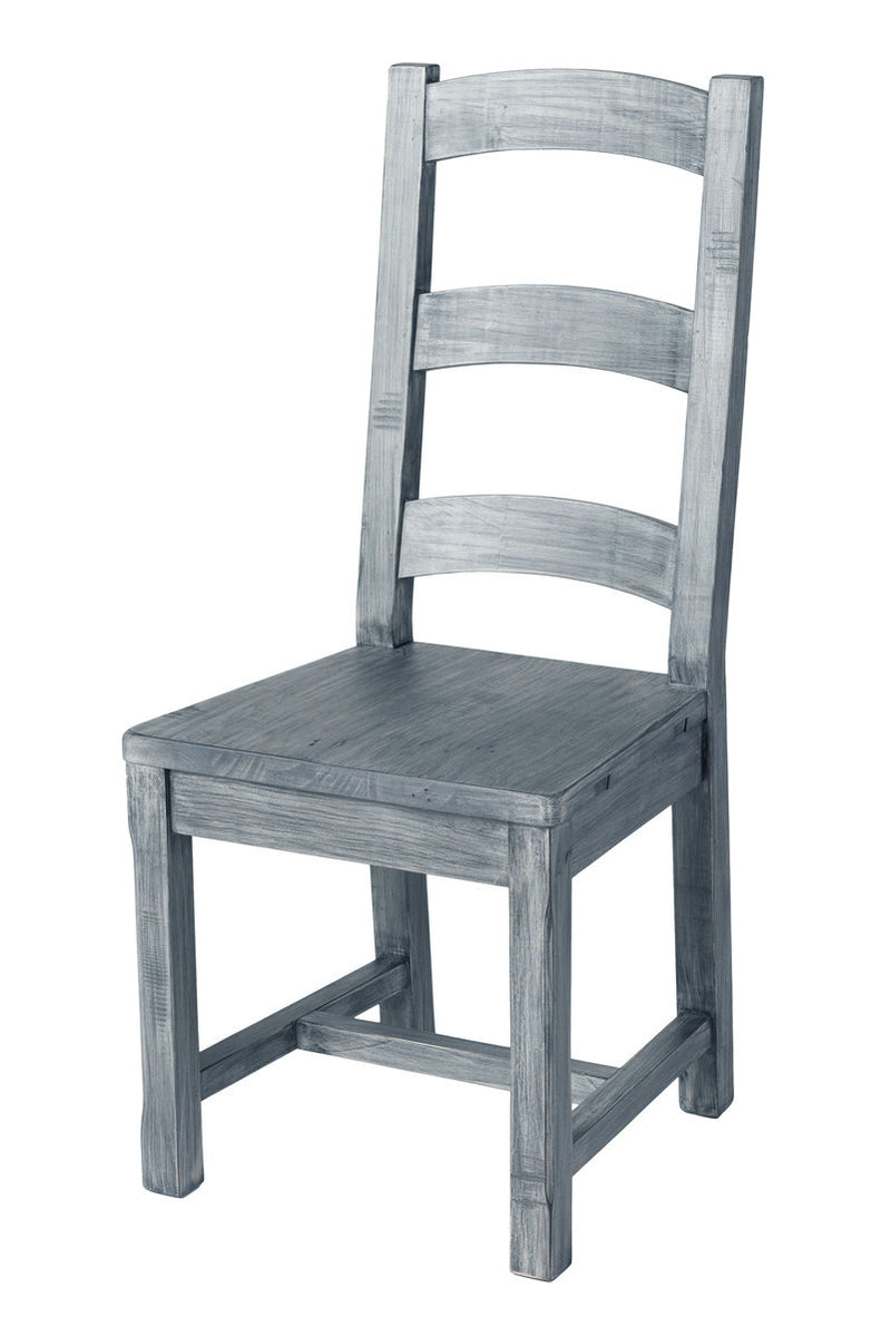 Settler Ladderback Dining Chair - Charcoal Ash - 2003-2018 Homestead Furniture All Rights Reserved