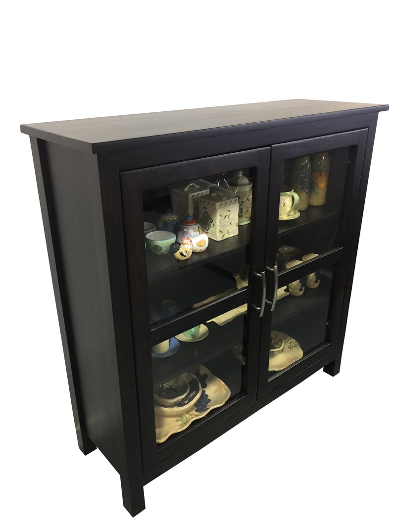 Urban Glass Display Cabinet - Showroom Special - 2003-2018 Homestead Furniture All Rights Reserved