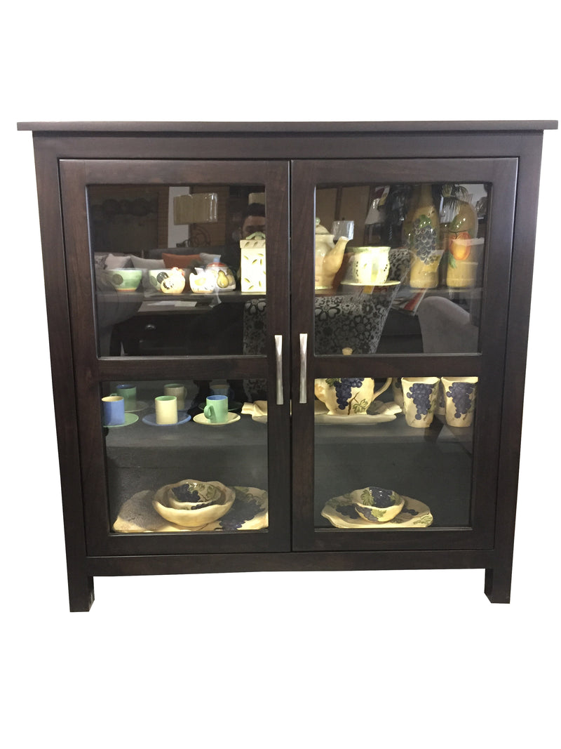 Urban Glass Display Cabinet - 2003-2018 Homestead Furniture All Rights Reserved