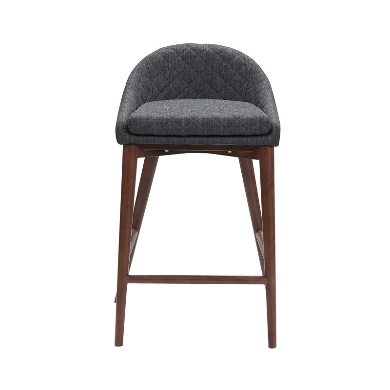 Mila Counter Stool - Charcoal Grey