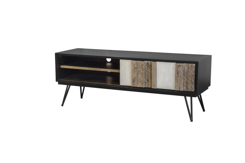 Noir Havana Media Console - 2003-2018 Homestead Furniture All Rights Reserved