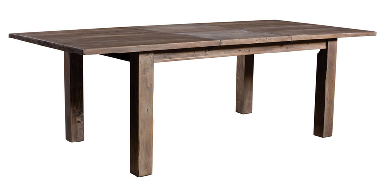 Settler Large Dining Table - Driftwood - 2003-2018 Homestead Furniture All Rights Reserved