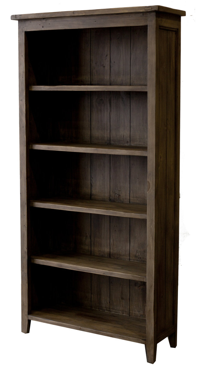 Irish Coast Bookcase - Driftwood - 2003-2018 Homestead Furniture All Rights Reserved