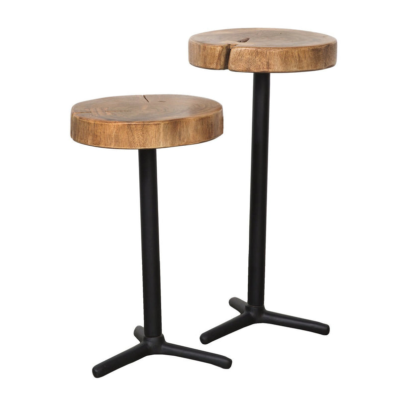 Organic Martini Tables (Set of 2) - 2003-2018 Homestead Furniture All Rights Reserved