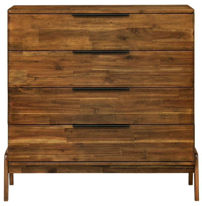 Remix 4 Drawer Dresser - 2003-2018 Homestead Furniture All Rights Reserved