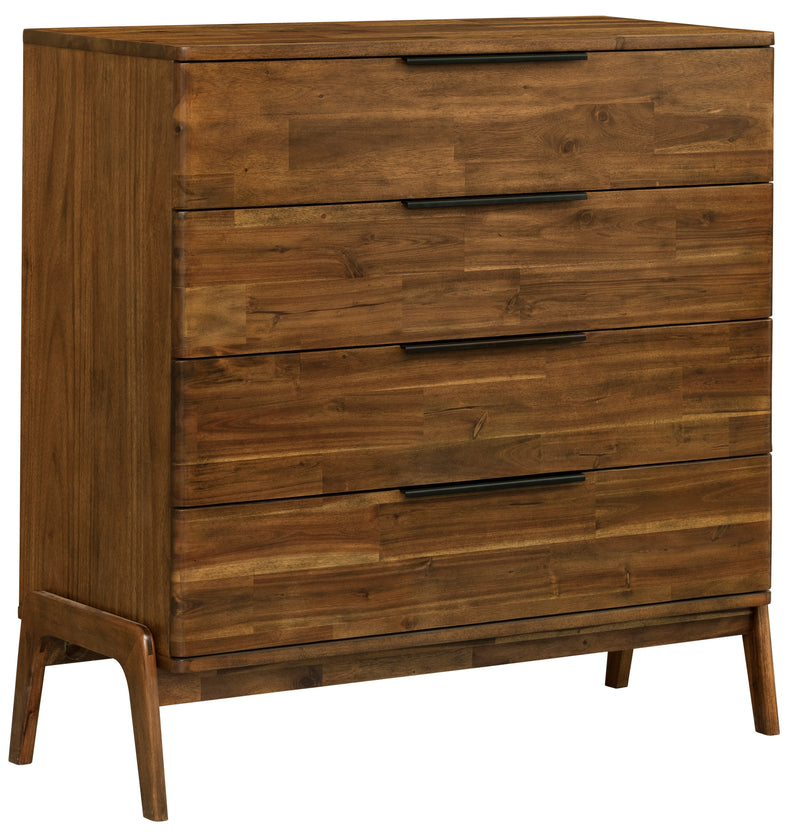Remix 4 Drawer Chest - 2003-2018 Homestead Furniture All Rights Reserved