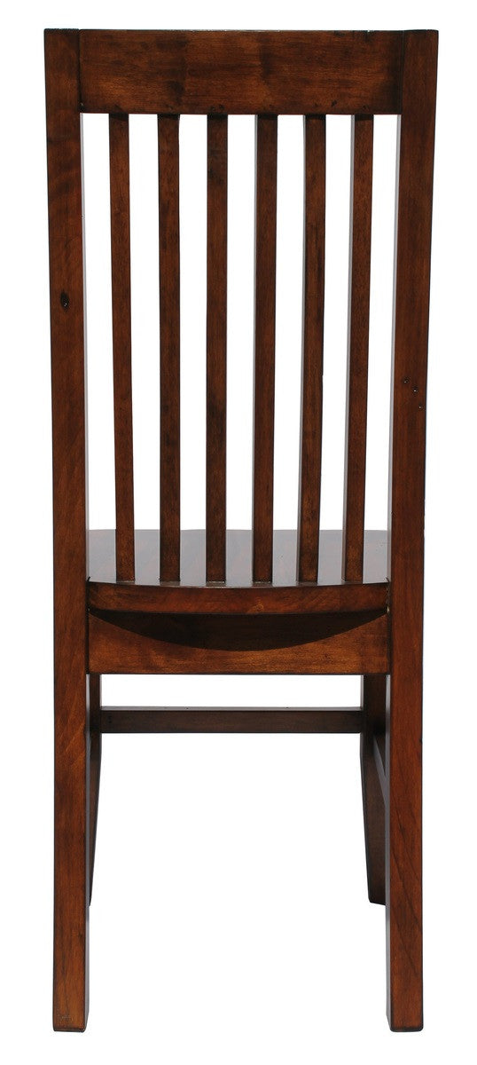 Irish Coast Slat Back Chair - African Dusk - 2003-2018 Homestead Furniture All Rights Reserved