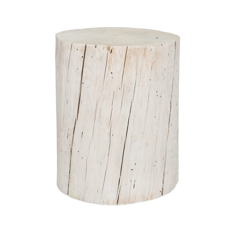 Stump Log Stool / End Table