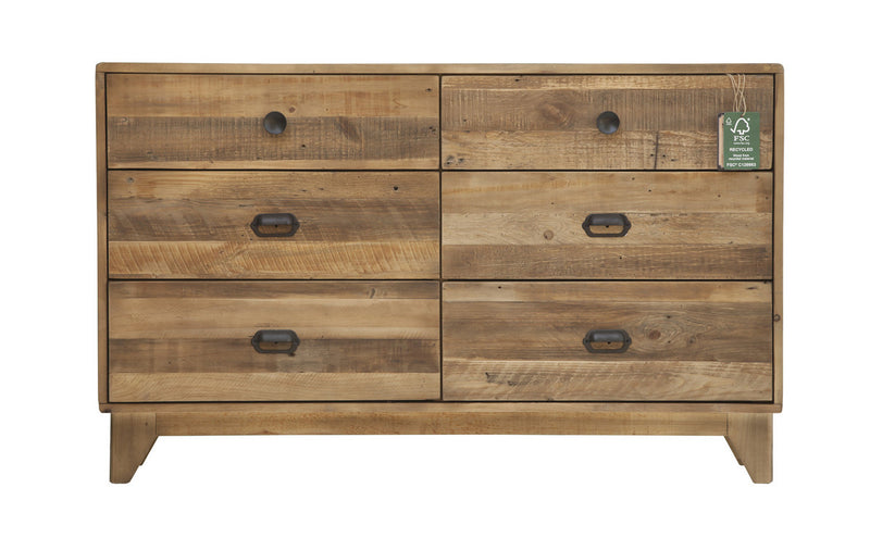 Campestre - Modern 6 Drawer Dresser - 2003-2018 Homestead Furniture All Rights Reserved