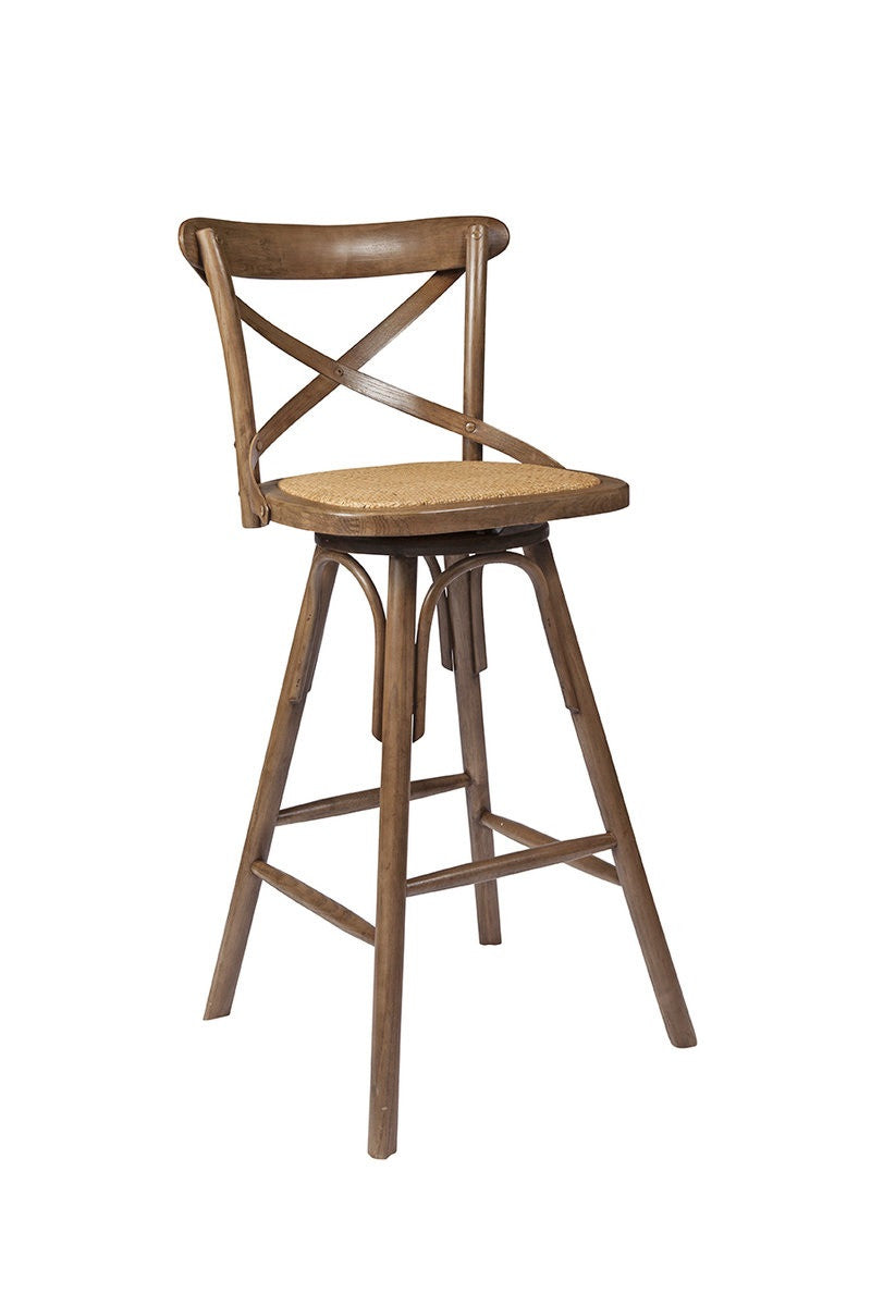 Crossback Counter Stool - Sundried - 2003-2018 Homestead Furniture All Rights Reserved