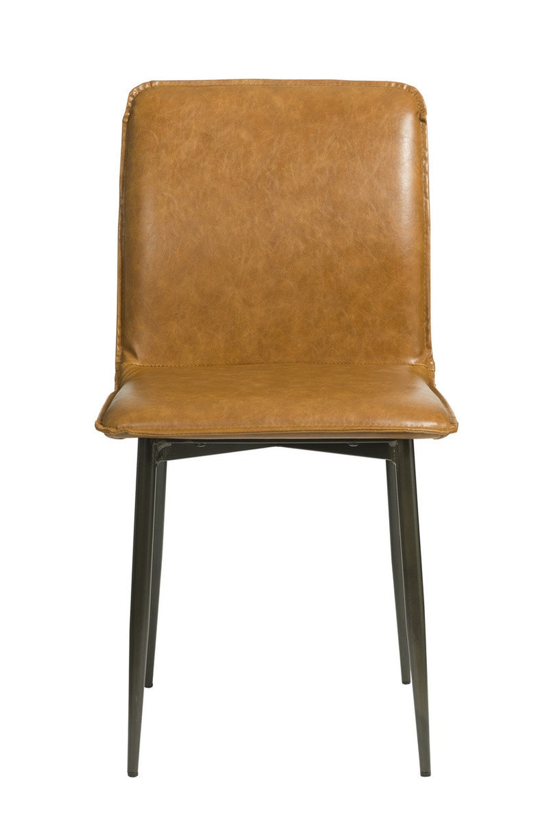 Luca Side Chair - Tan Brown - 2003-2018 Homestead Furniture All Rights Reserved
