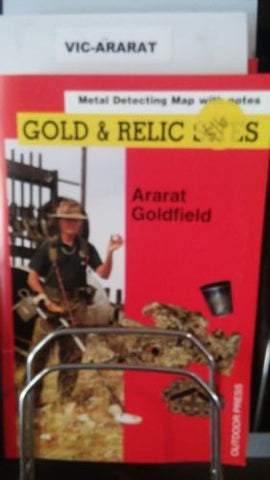 Metal detecting Gold and Relic map Ararat Goldfield