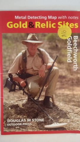 Metal detecting Gold and Relic map Beechworth Goldfield
