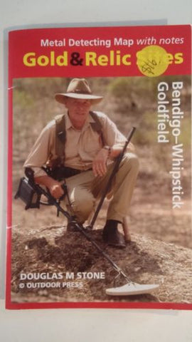 Metal detecting Gold and Relic map Bendigo - Whipstick Goldfield