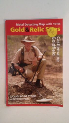 Metal detecting Gold and Relic map Castlemaine Goldfield