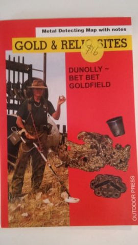 Metal detecting Gold and Relic map Dunolly - Bet Bet Goldfield