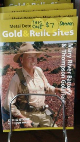 Metal detecting Gold and Relic map Mary river Battery & Thompson Goldfield