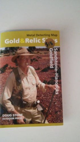 Metal detecting Gold and Relic map Sandstone - Hancocks Goldfield