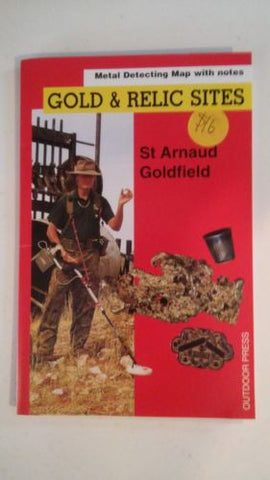 Metal detecting Gold and Relic map St Arnaud Goldfield