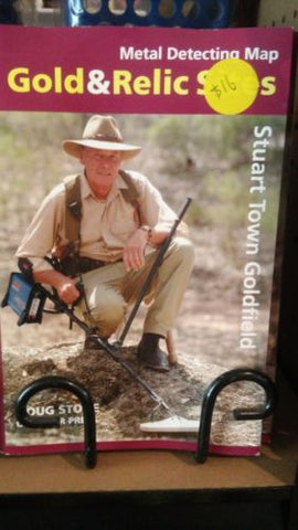 Metal detecting Gold and Relic map Stuart town Goldfield