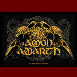 Amon Amarth - Odins Ravens skull Patch
